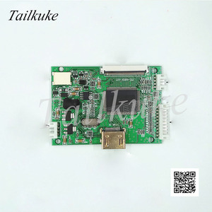 Image 1 - Pcb800168 אחת HDMI כונן לוח HDMI כדי TTL Pinboard 7 אינץ 8 אינץ 9 אינץ LCD כונן צלחת