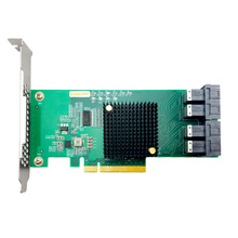 Controller Pcie Quad-Port SFF8639 Nvme And SSD To U.2 Exp ANU24PE08 Sas-Cable 12gbs Not-With