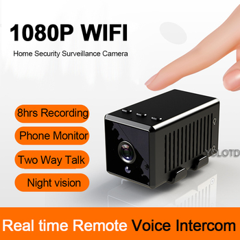 new q3 portable mini full hd 1080p car camcorder driving recorder with wide angle lens 6x wide digital zoom f2 2 recording 1080P HD WIFI Mini Car Drive Camera 140 Wide Angle IR Night Vision Camcorder Loop Video Recorder Two Talk IP Alarm CAM