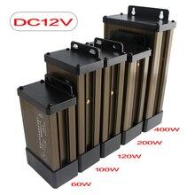 12V Power Supply Lighting Transformers 5 Power Supply 12 24 V Adapter Lighting Transformers AC DC Power Supply Outdoor Rainproof