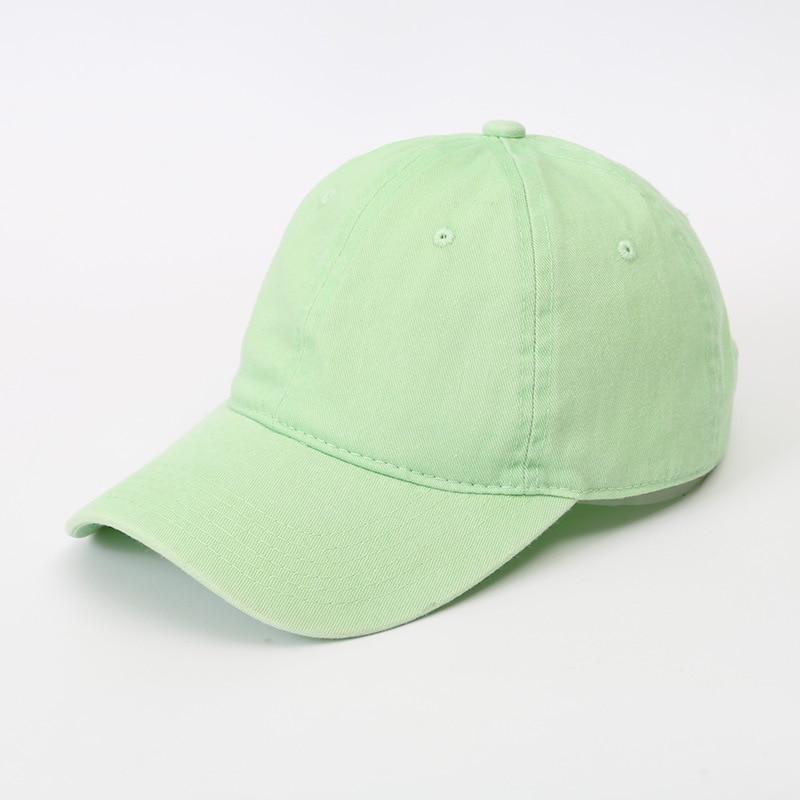 Solid Spring Summer Cap Women Ponytail Baseball Cap Fashion Hats Men Baseball Cap Cotton Outdoor Simple Vintag Visor Casual Cap 21