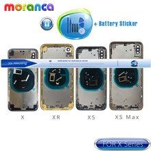 Задний корпус xs для iphone xr x xsmax задняя крышка аккумулятора