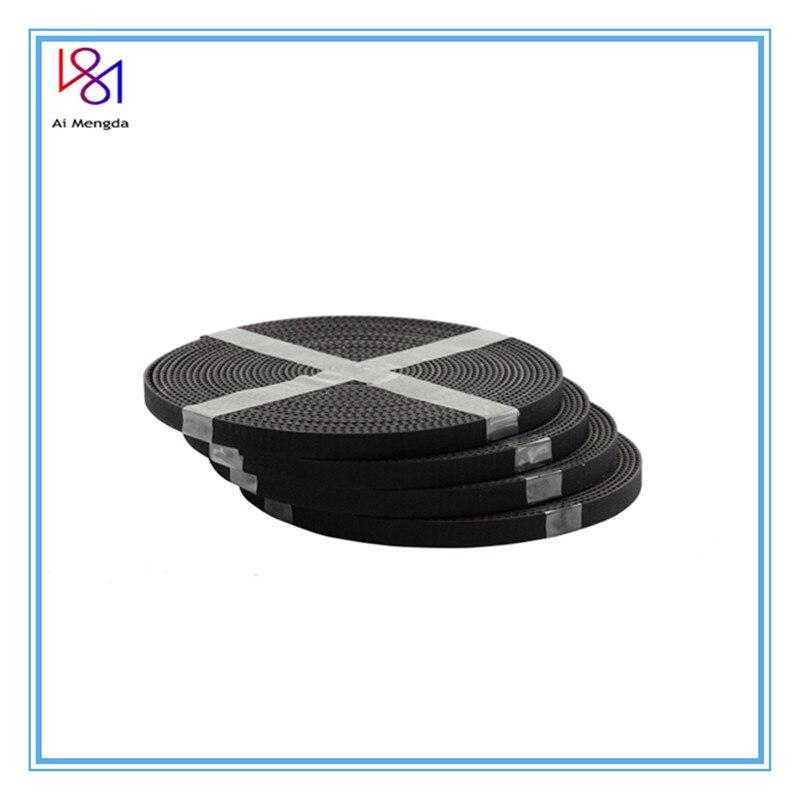 High Quality 5Meter/lot GT2-6mm Open Timing Belt Width 6mm GT2 Belt Rubber Fiberglass Cut To Length For 3D Printer Wholesale