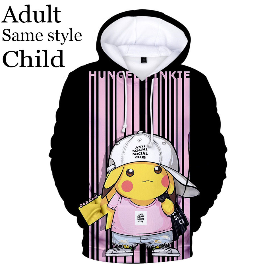 Hoodies Sweatshirt/Men 3D Print Kids,Cartoon Singing Elves Art,Sweatshirts for Women Hoodie Pullover