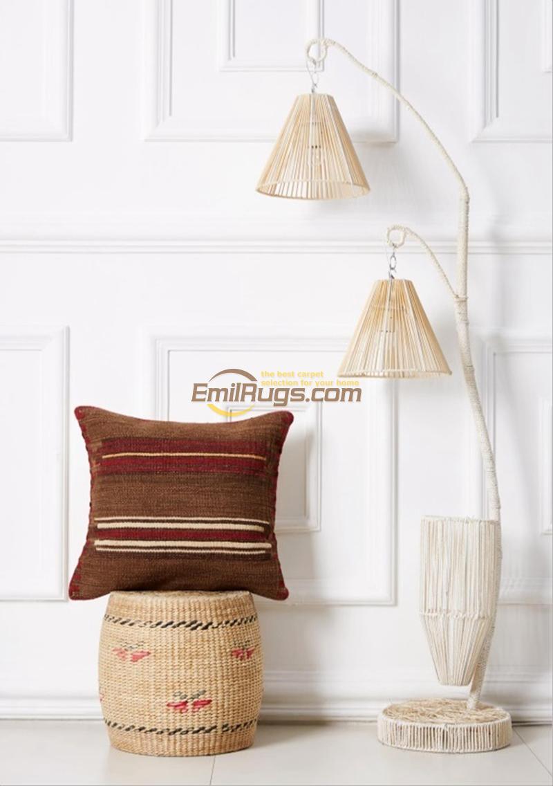 Federa del cuscino di lusso Kilim Copertura Complementi Arredo Casa Fatti A Mano Arte Moderna A Mano Tessuto di Lana Varia Divano Coperte e Plaid Decorazione di Interni