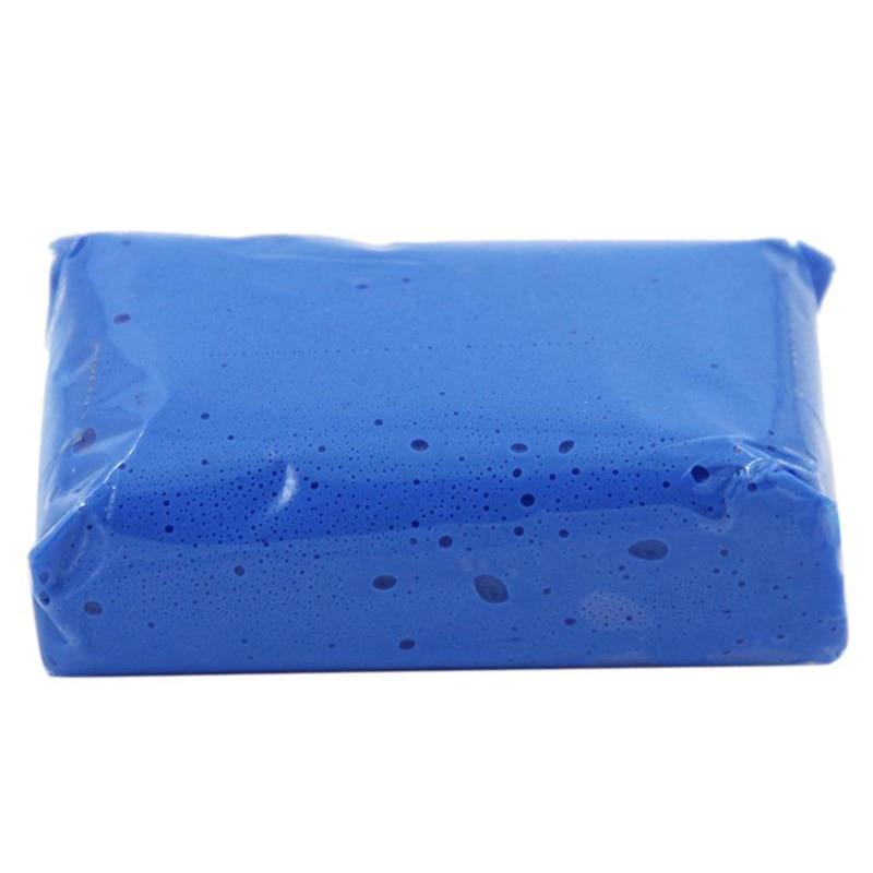 Инструмент для автоухода за мойкой автомобиля, голубая глина для очистки автомобиля, детейлинг, очиститель грязи, инструмент для удаления о...