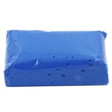 Ferramenta de lavagem de carro de cuidado automático barra de argila limpa azul detalhando lama limpador remover ferramenta de lavagem