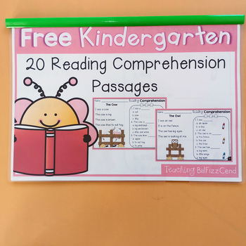 21 Pages Reading Comprehension Colorful Exercise English Workbook Educational Training Book Kids Montessori Materials - discount item  10% OFF Learning & Education