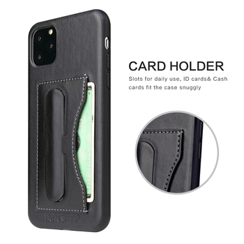 Fashion Faux Leather Card Holder Case for iPhone 11/11 Pro/11 Pro Max 2