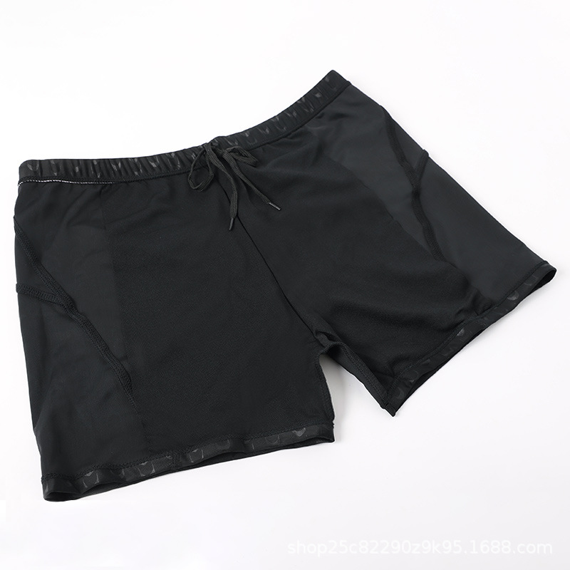 Men Quick-Dry Capri Swimming Trunks