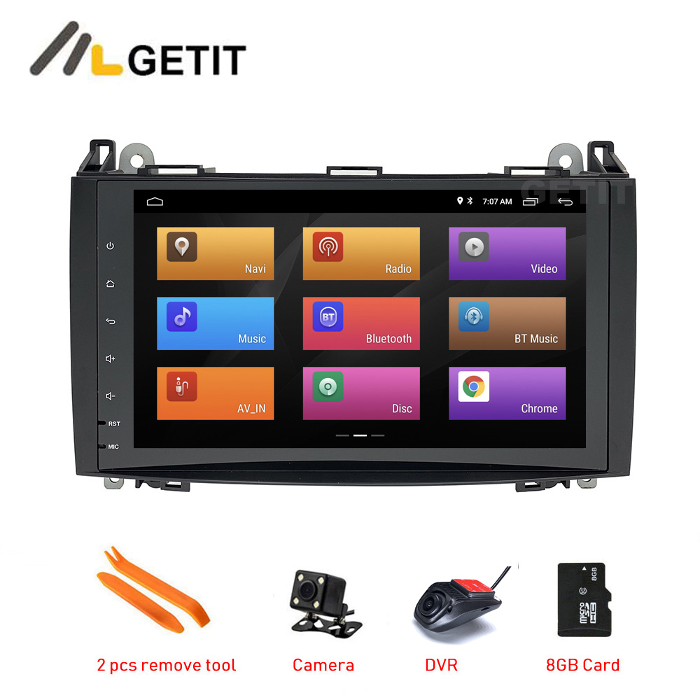 Sound-way Double DIN Car Radio Installation Kit for Mercedes A//B Class Viano Vito Sprinter VW Volkswagen Crafter