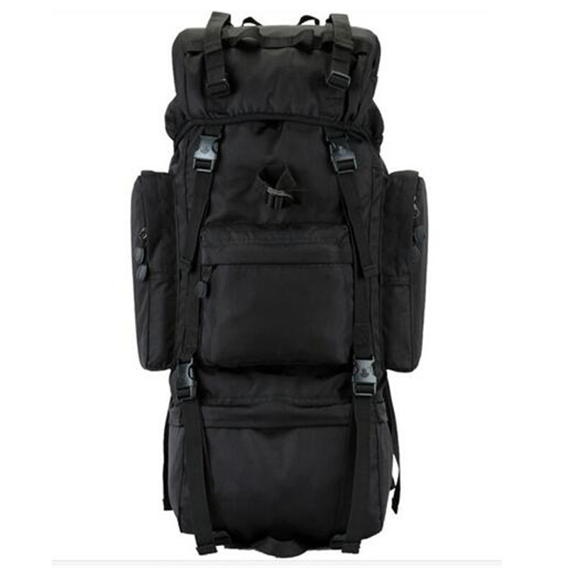 Outdoor Men's Military Backpack Waterproof Travel Bags 800D Oxford 65-70L Clima Hiking Backpack Notebook Laptop Bag Boy Backpack