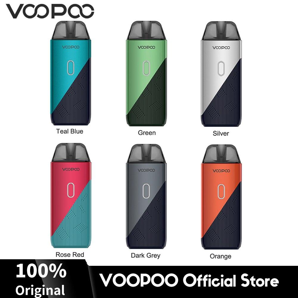 Em Estoque VOOPOO ENCONTRAR Trio Pod Vape Kit 1200mAh Bateria Embutida 3ml Cartucho 0.8/1.2ohm M- pnP Bobinas Vape Cigarro Eletrônico