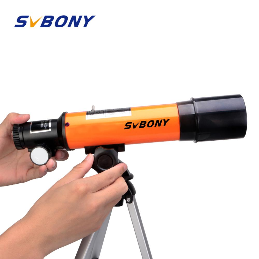 SVBONY SV502 Child Telescope Outdoor Monocular With Tripod Portable Of Astronomical Kid's Telescope For Children Gift F9350A