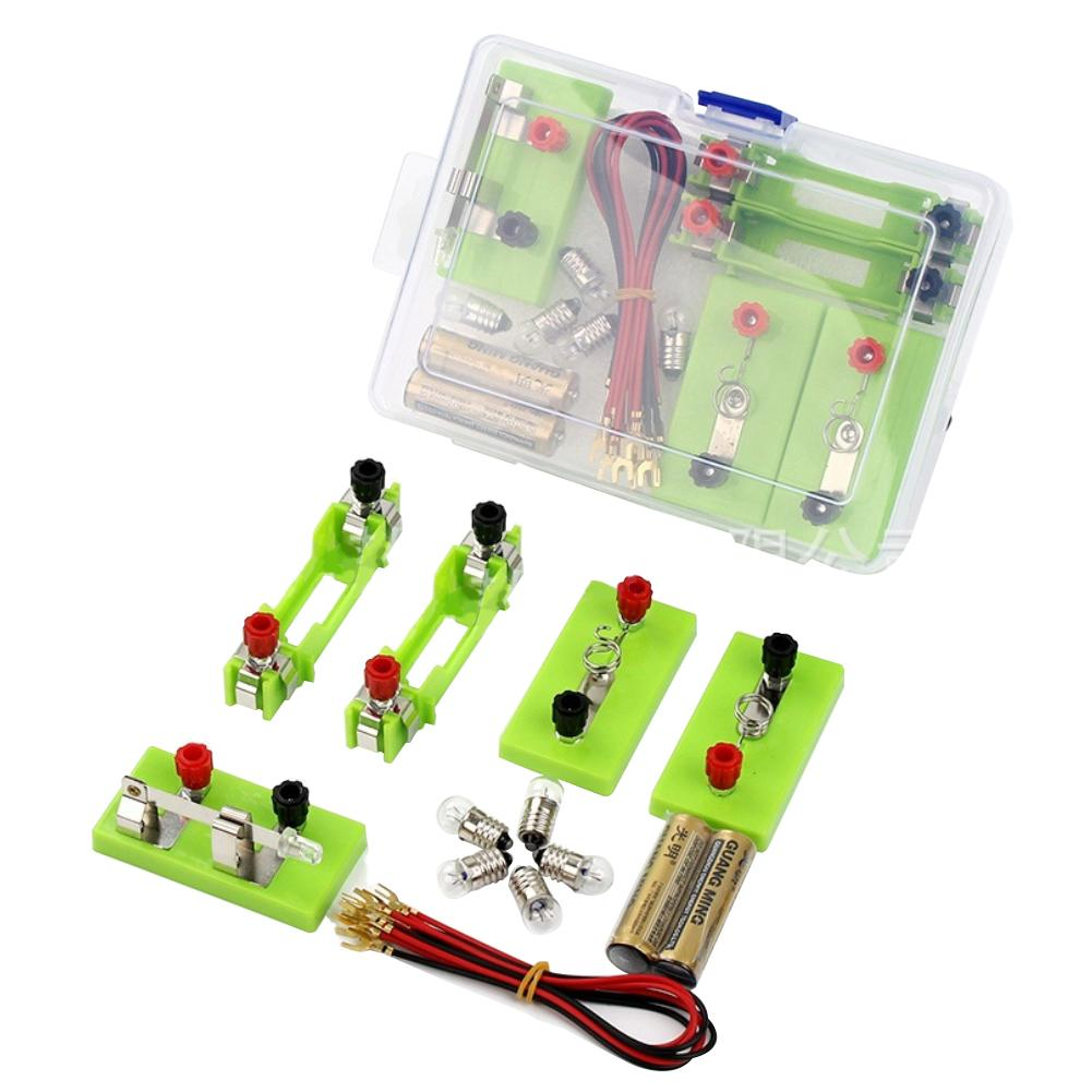 New Student Circuit Experiment Equipment Set Electrical Parallel Circuit Lighting Small Bulb Physics Experiment Equipment Set