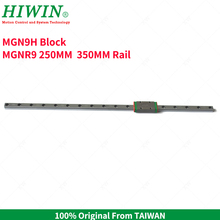 Free Shipping  HIWIN Stainless Steel MGN9 250mm 350mm Linear Rail  with MGN9H Slider Block Carriage  for 3D Printer все цены