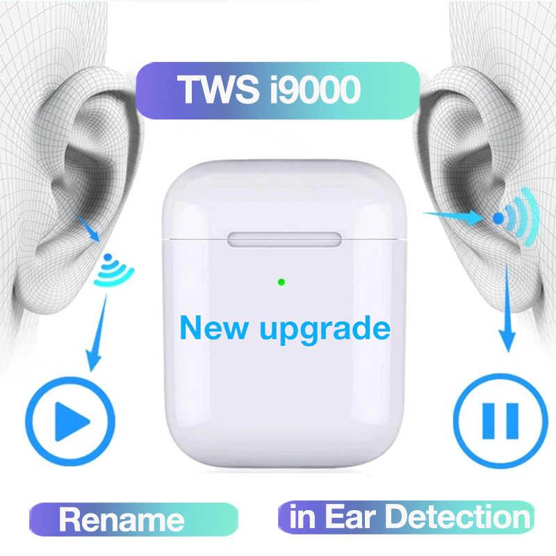 Nowy i9000 TWS 2020 Pop up 1:1 kopiowanie zestaw słuchawkowy Bluetooth słuchawki bezprzewodowe słuchawki douszne PK i12 i1000 i500 i 2000 TWS słuchawki z Bluetooth