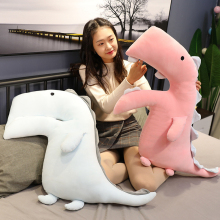 110CM Cartoon Animal Dinosaur Plush Pillow Cushion Cute Toy Stuffed Animals Plushies Toys Kawaii Soft Plushie Children AP