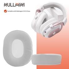 NullMini Replacement Earpads headband for Redragon H510 ZEUS WHITE Gaming Headphones Earmuff Earphone Sleeve Headset
