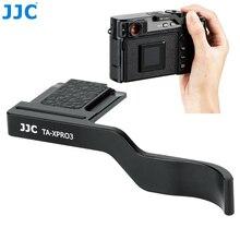 JJC ديلوكس المعادن الإبهام حتى قبضة ل Fujifilm X Pro3 XPro3 X Pro2 XPro2 X Pro1 كاميرا الحذاء الساخن قبضة اليد كاميرا الملحقات
