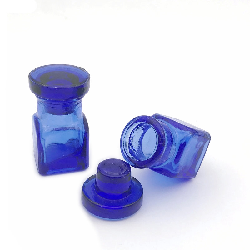2Pcs Dental Glass Medicine Bottle Glass Bottle For Dentist Clinic Use