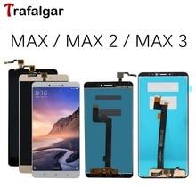 Dla Xiaomi Mi Max 3 wyświetlacz LCD ekran dotykowy Digitizer zgromadzenie dla Xiaomi Mi Max 2 ekran LCD Max3 wymiana czarny biały złoty