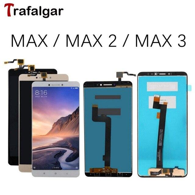 ЖК дисплей для Xiaomi Mi Max 3, сенсорный экран с дигитайзером в сборе для Xiaomi Mi Max 2, сменный ЖК экран Max3, черный, белый, золотой