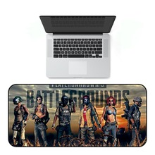 Extra Large Mouse Pad Battlegrounds Gaming Mousepad Anti-slip Natural Rubber Mat with Locking Edge Dropshipping