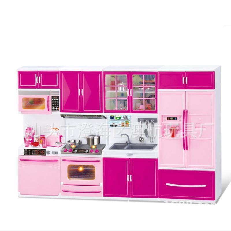 3 em 1 novo fingir jogar simulação cozinha conjunto de cozinha gabinete ferramenta utensílios de mesa bonecas ternos brinquedos puzzle boneca educacional para meninas