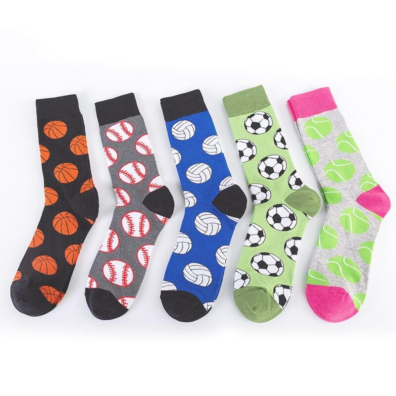 MODA MULAYA счастливые мужские носки/женские серии забавных носков волейбол теннис баскетбол/Бейсбол/футбол новинка спортсмены незаменимые