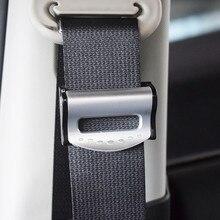 2x Auto Seat Belts Clips Safety Adjustable Accessories For Nissan Qashqai j11 Juke X-trail T32 Tiida Note Almera Primera Teana kokololee pu leather car seat cover for nissan qashqai note murano march teana tiida almera x trai juke auto accessories styling