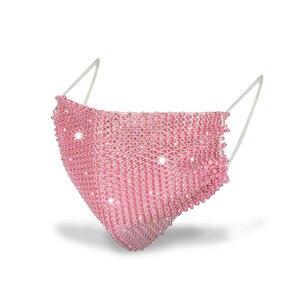 Новинка, кристальная Маскарадная маска для лица для женщин, винтажные вечерние аксессуары, маска для рта, популярные вечерние Ювелирное Укр...