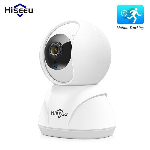 Hiseeu 1080p 1536p câmera ip sem fio inteligente wi fi câmera gravação de áudio vigilância monitor do bebê hd mini câmera cctv segurança em casa