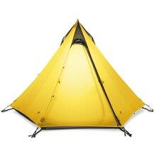 3F UL dişli Cangyuan 3 kamp çadırı su geçirmez çadır silikon kaplama çadır kamp için 2 3 kişi çadır kamp açık yürüyüş