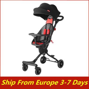 Wysoki krajobraz składany wózek dziecięcy lekki przenośny wózek podróżny wózek dziecięcy noworodek dziecięcy wózek nosidło wózek dziecięcy tanie i dobre opinie CN (pochodzenie) 0-3 M 4-6 M 7-9 M 10-12 M 13-18 M 19-24 M 2-3Y 0-25kg
