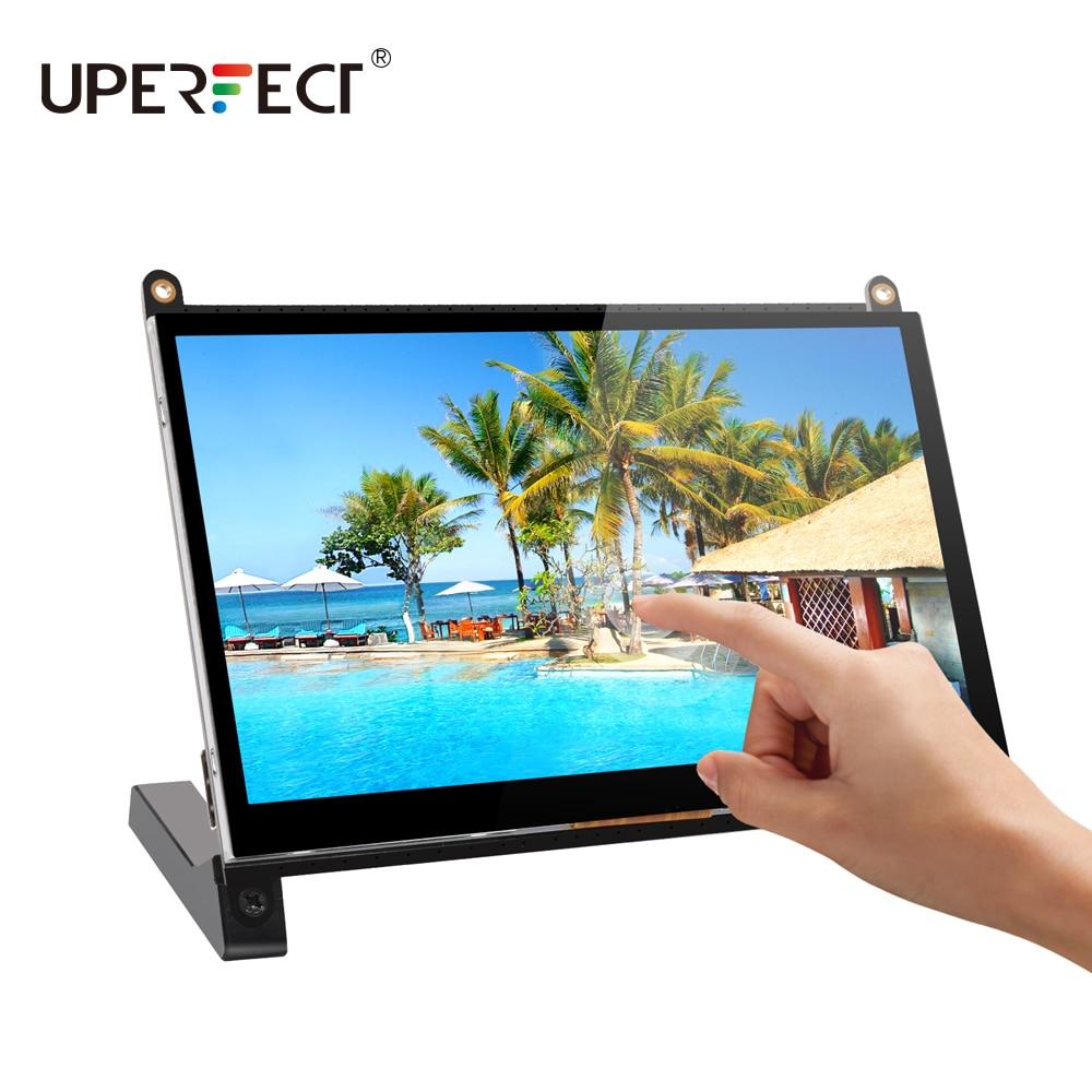 Raspberry Pi 4B Display 7 Inch Capacitive Touch Screen HDMI 1024X600 HD LCD Monitor 7inch RPI Display For Raspberry Pi 3B+
