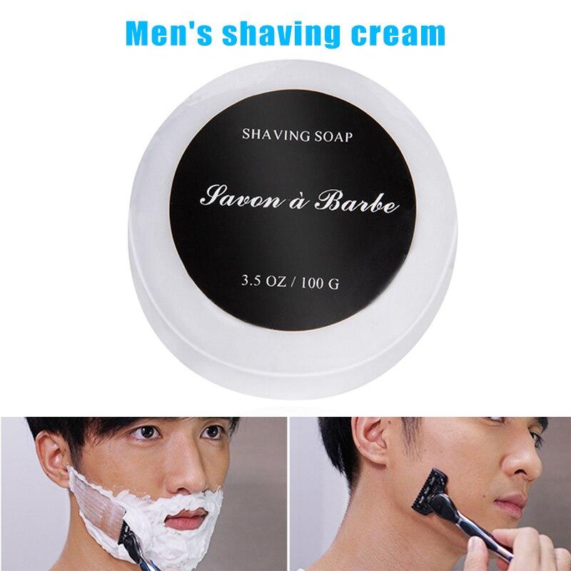 2019 creme de barbear para homem suave suave de seda sabão de barbear rico espuma hidratante refresca