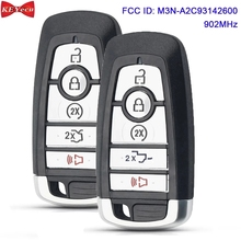 KEYECU for Ford Edge Fusion Expedition Explorer F 150 F 250 F 350 F450 F550 Smart Remote Fob M3N A2C93142600 164 R8149 164 R8166