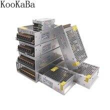 Interrupteur LED, transformateur alimentation LED, DC5V, 2A, 3A, 4A, 5A, 8A, 10A, 12A, 20A, 30A, 40A, 60a, adaptateur WS2812B SK6812 APA102