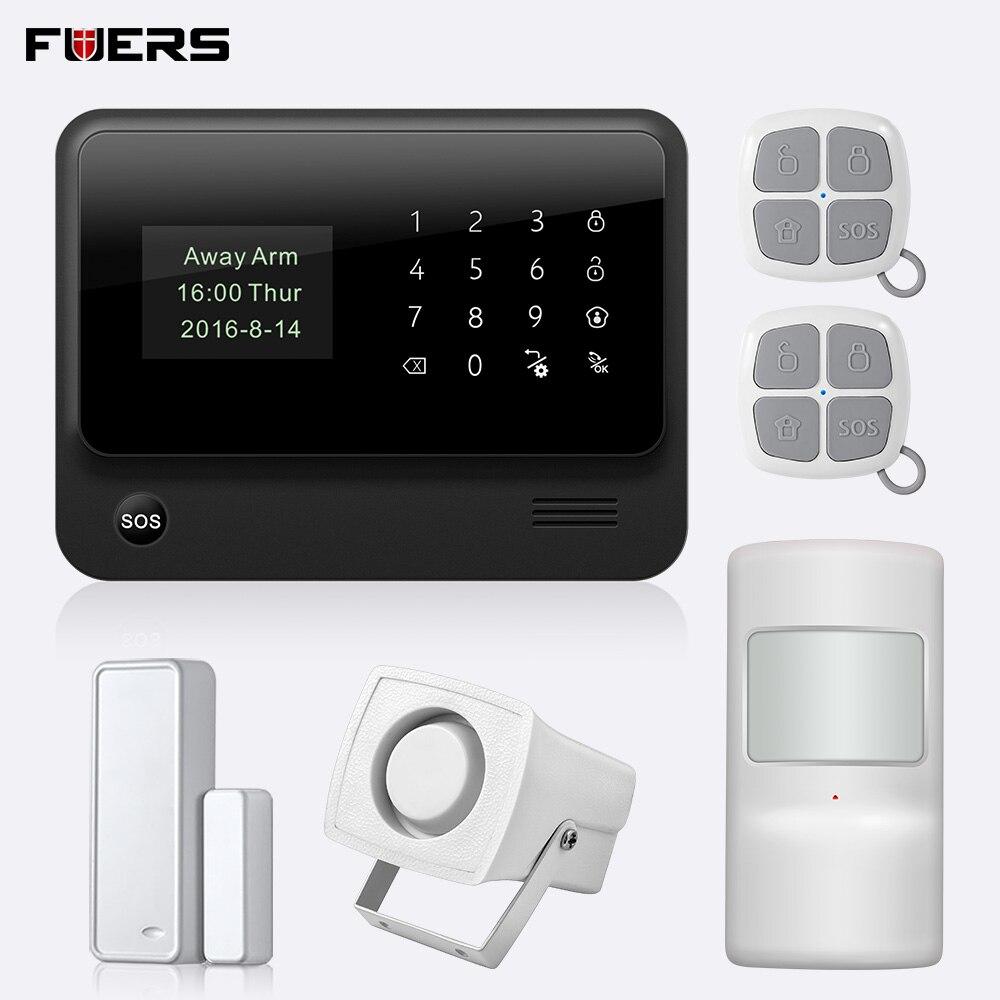 FUERS 2019 G90B PLUS 2G GSM système d'alarme APP télécommande maison intelligente intelligente 2.4G GSM GPRS SMS Wifi système d'alarme sécurité-in Kits système d'alarme from Sécurité et Protection on AliExpress - 11.11_Double 11_Singles' Day 1