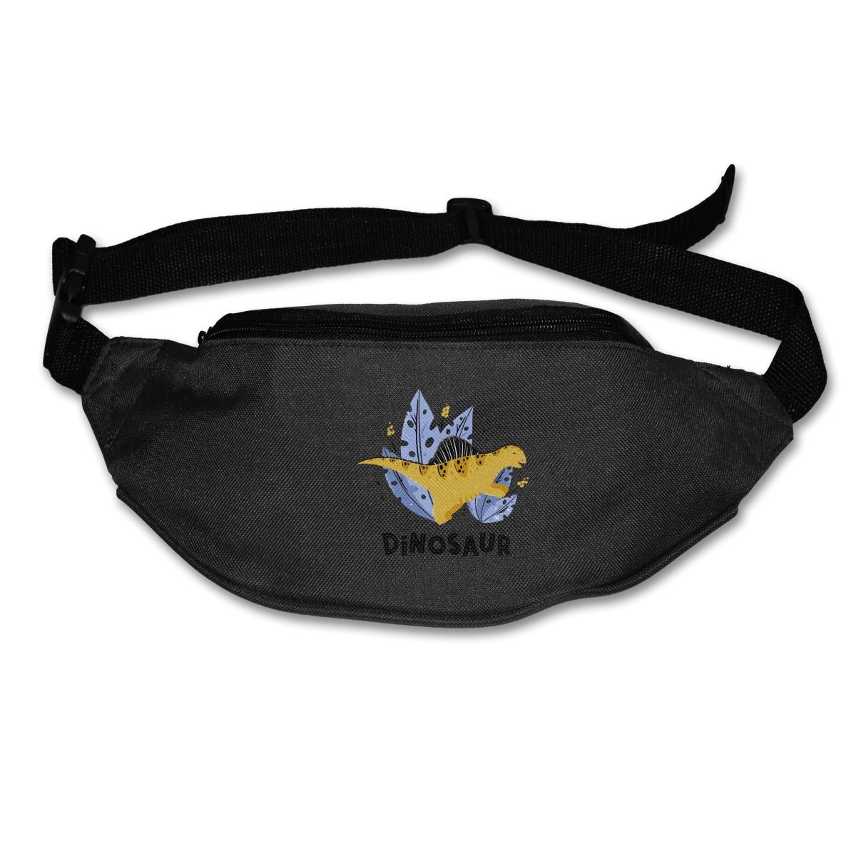 NOISYDESIGNS 2020 New Style Dinosaur Animals Printed Sport Runner Zipper Pack Belly Waist Bags Fitness Running Belt Pouch Hot