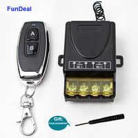 FunDeal-mando a distancia inalámbrico RF, transmisor receptor para fábrica, granja, oficina, ventilación, bomba de agua, luz LED, 433MHz, 85V ~ 250V