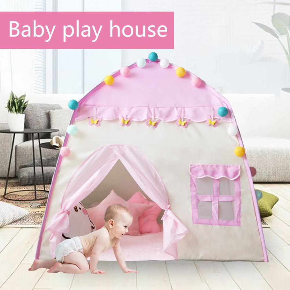 Tente Portable pour enfants jouet piscine à balles enfants petite maison pliante Playtent bébé plage tente princesse fille château maison de jeu