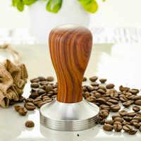Food Grade 51mm Espresso Tamper Coffee Pull Cup Press Flat Base Barista Accessories