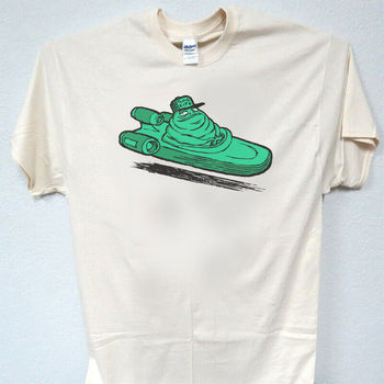 Jabba The Hut Thug vida Star Wars marfil Mens T camisa S 5Xl T 1584 L K