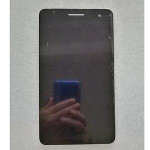 Image 2 - Lcd dorigine avec cadre pour Huawei Honor Mediapad T1 7.0 T1 701 T1 701U T1 701U écran LCD avec écran tactile numériseur