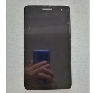 Image 2 - Original lcd with frame For Huawei Honor Mediapad T1 7.0 T1 701 T1 701U T1 701U LCD display with touch screen digitizer assembly