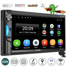 GRAND 2 Din GPS Android autoradio schermo HD link specchio Carplay Radio lettore multimediale 7