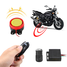 12V Anti theft Security Alarm System Remote Control Key Car Keyring Motorcycle Bike Smart Alarm Interior Accessories