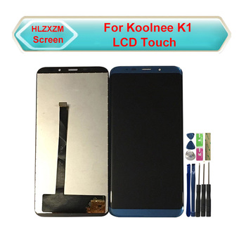 цена на New Original LCD For Koolnee K1 LCD Display With Touch Screen Digitizer Assembly Replacement With Tools+3M Sticker